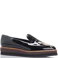 Черные туфли Susy из лаковой кожи на платформе, фото