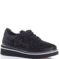 Утепленные туфли Lab Milano черного цвета, фото
