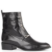 Черные ботинки Marino Fabiani из гладкой кожи, фото
