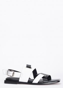Сандалии Laura Bellariva черно-белого цвета, фото
