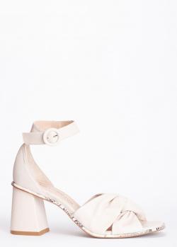 Бежевые босоножки Laura Bellariva из гладкой кожи, фото