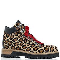 Ботинки Le Silla с животным принтом, фото