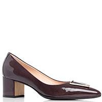 Коричневые туфли Fabio Di Luna из лакированной кожи, фото