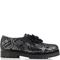 Туфли Marzetti черного цвета с принтом, фото