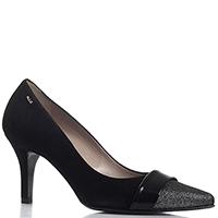 Туфли черного цвета Norma J.Baker с декором на носке, фото