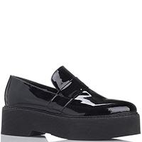 Туфли черного цвета Kanna на платформе, фото