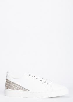 Кеды из кожи Stokton с декором-стразами, фото