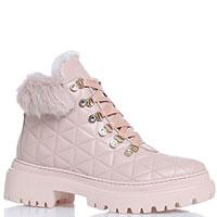 Стеганые ботинки Stokton бежевого цвета, фото