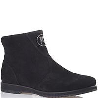 Замшевые ботинки Kelton черного цвета, фото