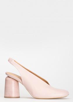 Пудровые слингбеки Halmanera с квадратным носком, фото
