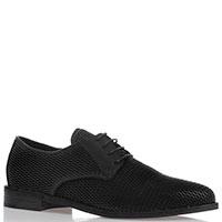 Черные туфли Fru.It из перфорированной кожи, фото