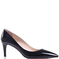 Лаковые туфли Prada черного цвета, фото