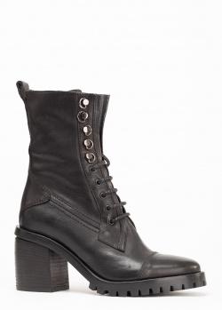 Черные ботинки Fru.It Now на шнуровке, фото