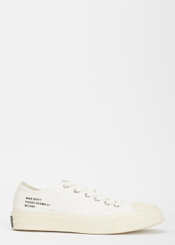 Текстильные кеды Miss Sixty белого цвета, фото