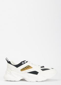 Кроссовки на шнуровке Miss Sixty с брендовой надписью, фото