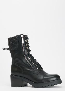 Черные ботинки Miss Sixty со стеганой вставкой, фото
