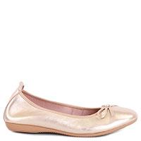 Балетки La Ballerina золотистого цвета, фото