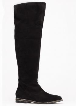 Сапоги Le Silla из черной кожи, фото