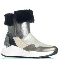 Женские ботинки Marzetti на меху, фото
