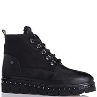 Черные ботинки Lab Milano на меху, фото