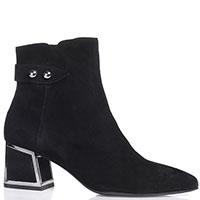 Замшевые ботинки Bruno Premi с декоративным ремешком, фото