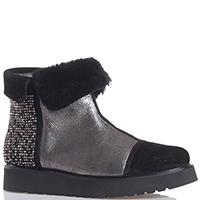 Замшевые ботинки Marzetti со стразами, фото