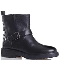 Черные ботинки Bruno Premi с декором-стразами, фото