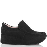 Черные туфли Kelton на танкетке, фото