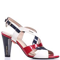 Лаковые босоножки Ilasio Renzoni на высоком каблуке, фото