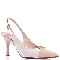 Лаковые туфли-слинбэк Ilasio Renzoni на шпильке, фото