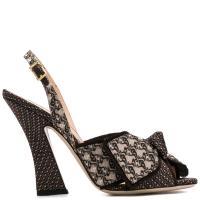 Босоножки Fendi на высоком каблуке, фото