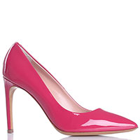Лаковые лодочки Vittorio Virgili розового цвета, фото