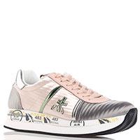 Текстильные кроссовки Premiata мультиколор, фото
