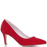 Красные туфли Bottega Lotti на среднем каблуке, фото