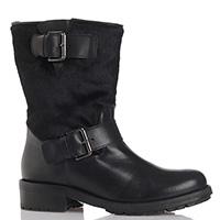 Черные ботинки Fabio Rusconi с декором-ремешками, фото