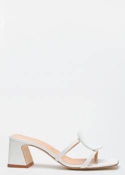 Лаковые мюли Chantal белого цвета, фото