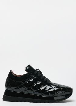 Черные кроссовки Sofia Baldi из лаковой кожи, фото