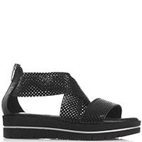 Черные сандалии Nila&Nila на платформе, фото