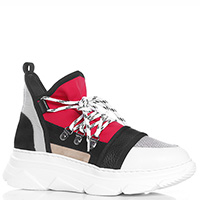 Высокие кроссовки Makris на шнуровке, фото