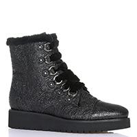Черные ботинки Luca Grossi на толстой подошве, фото