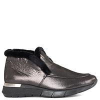 Ботинки Helena Soretti из черной замши, фото