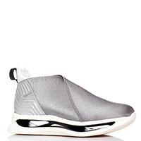 Кроссовки серого цвета Arkistar из текстиля, фото