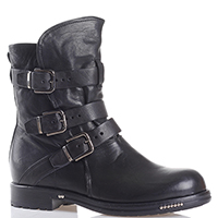 Черные ботинки Fru.It Now с декором-ремешками, фото