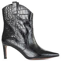Черные ботинки Bibi Lou на шпильке, фото