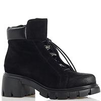 Женские ботинки Fru.it с эффектом потертости на носке и заднике, фото