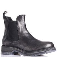 Ботинки-челси Fru.It черного цвета с отливом, фото