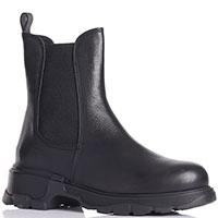 Черные ботинки-челси Fru.It с толстой подошвой, фото