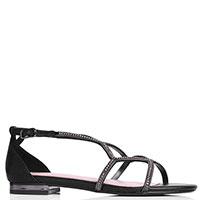 Черные сандалии Bibi Lou с закрытой пяткой, фото