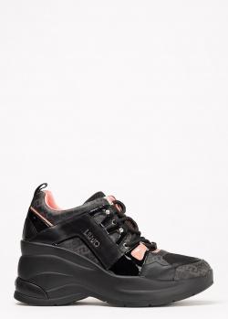 Кроссовки Liu Jo на массивной подошве, фото