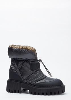 Ботинки со стежкой Loriblu на затяжке, фото